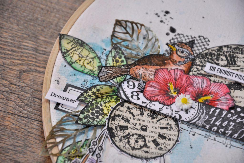 Home Déco : Cercle à broder en Carabelle studio