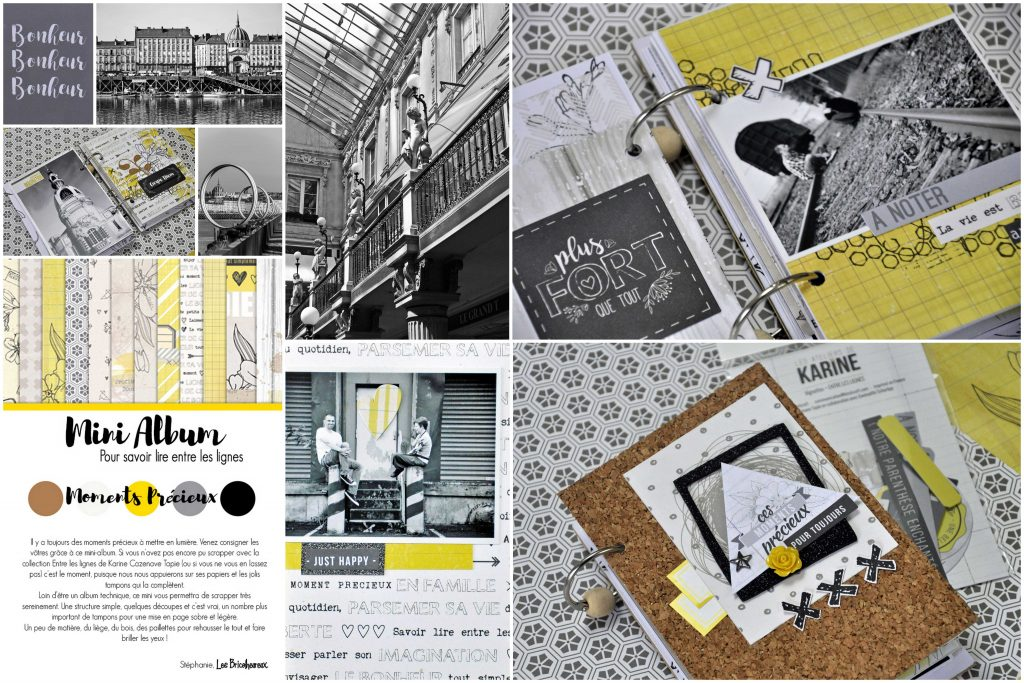 Mini -album entre Les Lignes